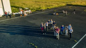 web drone vue groupe